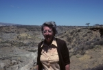 Mary Leakey at Olduvai Gorge
