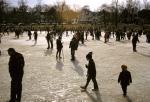 Skating in Bowne Park
